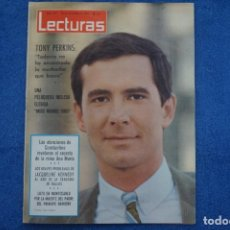 Collectionnisme de Magazines: REVISTA LECTURAS TONY PERKINS MISS GRAN BRETAÑA MUNDO 1964 ANN SIDNEY ROLLING STONES Nº 657 L17. Lote 241670135