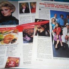 Collectionnisme de Magazines: RECORTE : MORGAN FAIRCHILD . FLAMINGO ROAD. LECTURAS, NVMBRE 1983(#). Lote 242289190