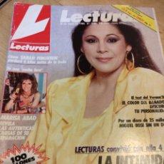 Collectionnisme de Magazines: REVISTA LECTURAS 1986 ISABEL PANTOJA MIGUEL BOSE. Lote 242916340