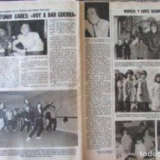 Coleccionismo de Revistas: RECORTE REVISTA LECTURAS N.º 1457 1980 ANTONIO GADES, MARISOL. Lote 243848355
