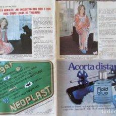 Coleccionismo de Revistas: RECORTE REVISTA LECTURAS N.º 1457 1980 GRACITA MORALES. Lote 243848415