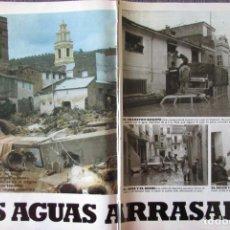 Coleccionismo de Revistas: RECORTE REVISTA LECTURAS N.º 1594 1982 RIADA DE LA RIBERA JUCAR, PRESA DE TOUS. PORTADA Y 15 PGS. Lote 243852125