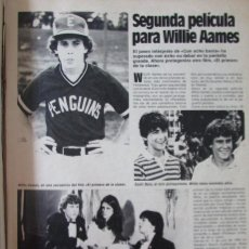 Coleccionismo de Revistas: RECORTE REVISTA LECTURAS N.º 1594 1982 WILLIE AAMES. Lote 243853705