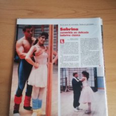 Coleccionismo de Revistas: RECORTE SABRINA REVISTA LECTURAS 19 OCTUBRE 1988 Nº1906. Lote 243874165