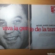 Coleccionismo de Revistas: RECORTE ANUNCIO RADIO ANTENA3 Y SECCIÓN CATALUNYA REVISTA LECTURAS 19 OCTUBRE 1988 Nº1906. Lote 243890310