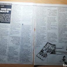 Coleccionismo de Revistas: RECORTE SECCIÓN RELATOS REVISTA LECTURAS 19 OCTUBRE 1988 Nº1906. Lote 243894315