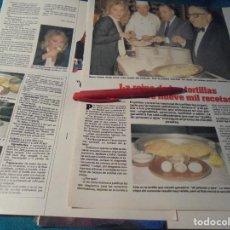 Colecionismo de Revistas: RECORTE : MAYRA GOMEZ KEMP, JURADO EN LA REINA DE LAS TORTILLAS. LECTURAS, JUNIO 1984(#). Lote 244485130