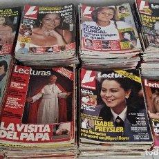 Coleccionismo de Revistas: LOTE DE 51 REVISTAS LECTURAS.. Lote 244609380