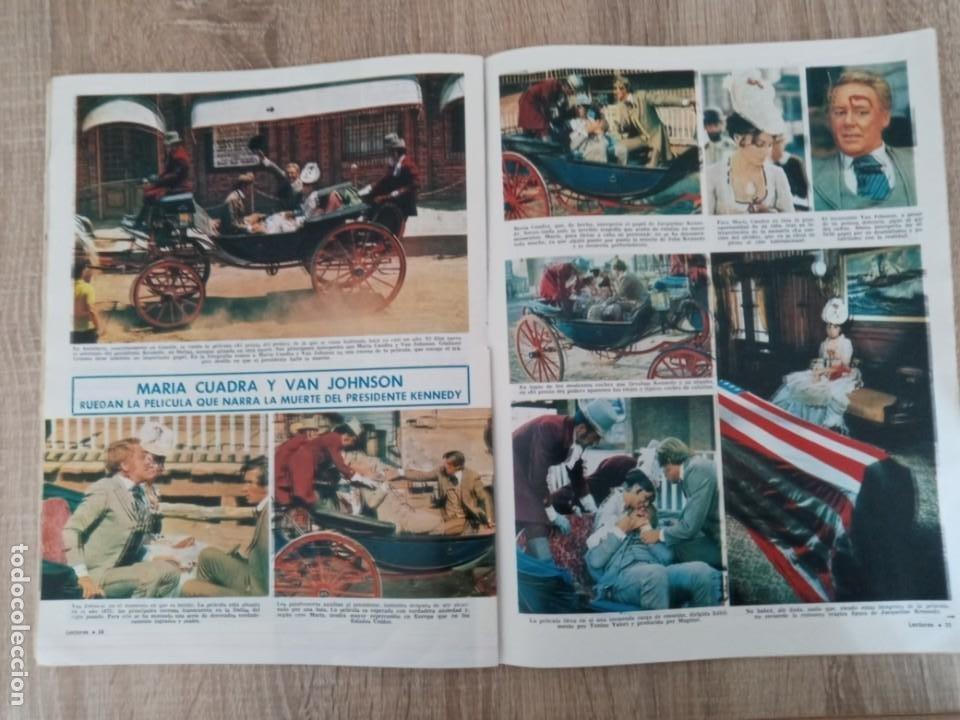 Coleccionismo de Revistas: LECTURAS 906 AÑO 1969 KENNEDY ALFREDO LANDA .JACKIE EN ATENAS ETC.. - Foto 2 - 244664805