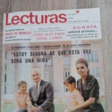 Coleccionismo de Revistas: LECTURAS 909 AÑO 1969 GRACE DE MONACO .SOFIA LOREN.SORAYA.TERESA RABAL.FARAH DIBA ETC... Lote 244667395