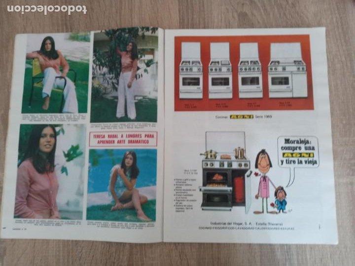 Coleccionismo de Revistas: LECTURAS 909 AÑO 1969 GRACE DE MONACO .SOFIA LOREN.SORAYA.TERESA RABAL.FARAH DIBA ETC.. - Foto 4 - 244667395