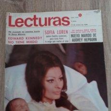 Coleccionismo de Revistas: LECTURAS 874 AÑO 1969 SOFIA LOREN.LUCIA BOSE .KENNEDY.LIZ TAYLOR ETC... Lote 244669630