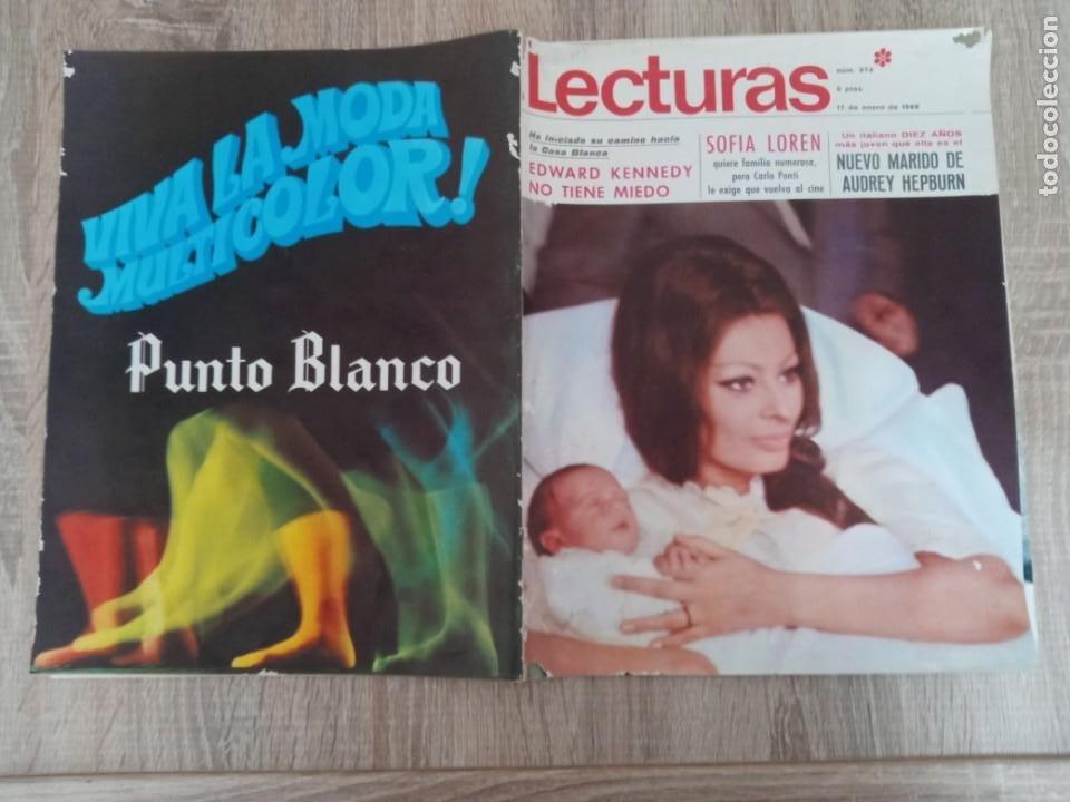 Coleccionismo de Revistas: LECTURAS 874 AÑO 1969 SOFIA LOREN.LUCIA BOSE .KENNEDY.LIZ TAYLOR ETC.. - Foto 3 - 244669630