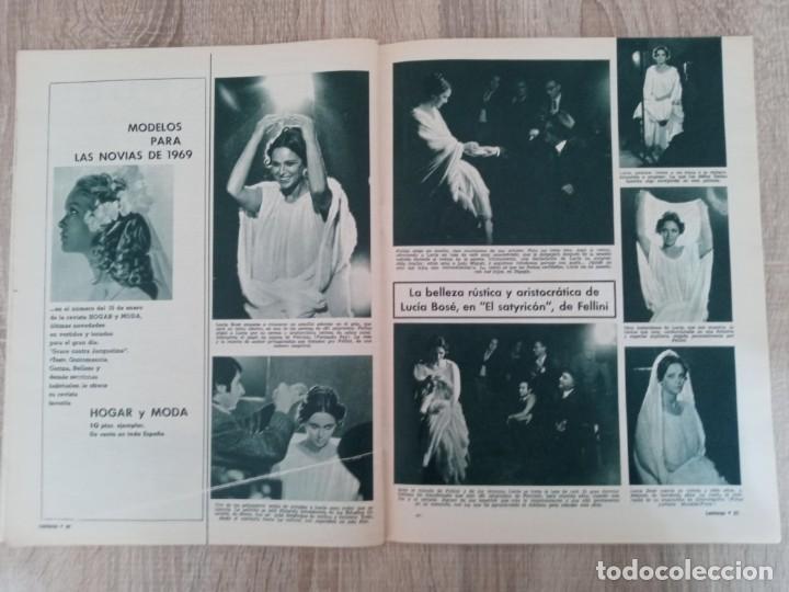 Coleccionismo de Revistas: LECTURAS 874 AÑO 1969 SOFIA LOREN.LUCIA BOSE .KENNEDY.LIZ TAYLOR ETC.. - Foto 4 - 244669630