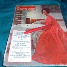 Colecionismo de Revistas: RECORTE : SARA MONTIEL, PORTADA DE REVISTA. LECTURAS, DCMBRE 1965(#). Lote 244672965
