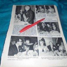 Colecionismo de Revistas: RECORTE : HOMENAJE A CESAREO GONZALEZ : SARA MONTIEL. MARISOL. . LECTURAS, DCMBRE 1965(#). Lote 244673045
