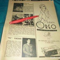 Coleccionismo de Revistas: RECORTE : MARIE LAFORET. ELVIS PRESLEY. LECTURAS, MAYO 1964(#). Lote 244677155