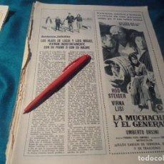 Colecionismo de Revistas: RECORTE : LUCIA BOSE Y LUIS MIGUEL, Y SUS HIJOS. MIGUEL BOSE. LECTURAS, FBRO 1968(#). Lote 244711840
