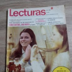 Coleccionismo de Revistas: LECTURAS 866 AÑO 1968 MIS ESPAÑA.SEAN COMNERY. IRA DE FURSTENGERG.LOS.REYES DE GRECIA ETC... Lote 244755650
