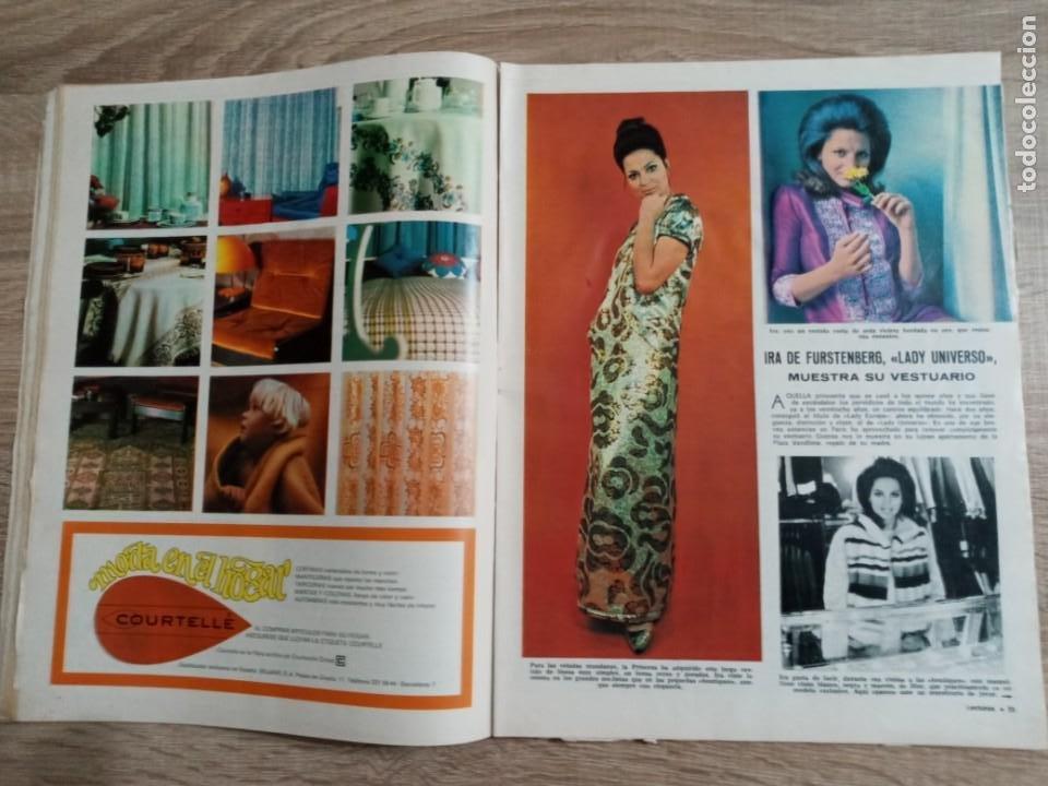 Coleccionismo de Revistas: LECTURAS 866 AÑO 1968 MIS ESPAÑA.SEAN COMNERY. IRA DE FURSTENGERG.LOS.REYES DE GRECIA ETC.. - Foto 2 - 244755650