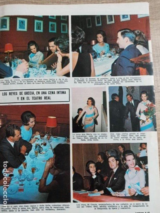 Coleccionismo de Revistas: LECTURAS 866 AÑO 1968 MIS ESPAÑA.SEAN COMNERY. IRA DE FURSTENGERG.LOS.REYES DE GRECIA ETC.. - Foto 3 - 244755650