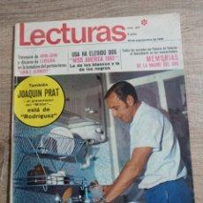 Coleccionismo de Revistas: LECTURAS 857 AÑO 1968 JOAQUIN PRAT.TERESITA RABAL.SYLVIE VARTAN ETC... Lote 244759180