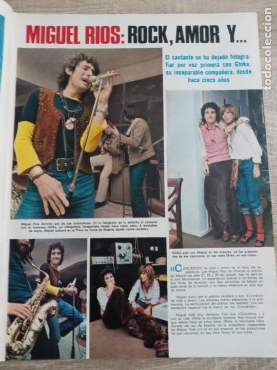 Coleccionismo de Revistas: LECTURAS 1.046 .MIGUEL RIOS.FERNANDO REY.CARMEN SEVILLA .POSTER DE MIKE KENNEDYETC.. - Foto 2 - 244761430