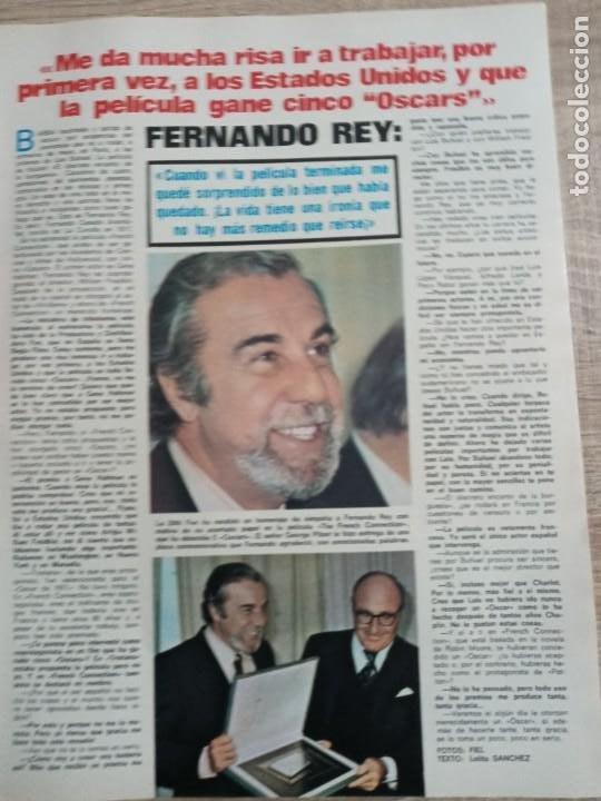 Coleccionismo de Revistas: LECTURAS 1.046 .MIGUEL RIOS.FERNANDO REY.CARMEN SEVILLA .POSTER DE MIKE KENNEDYETC.. - Foto 3 - 244761430