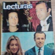 Coleccionismo de Revistas: LECTURAS 1.046 .MIGUEL RIOS.FERNANDO REY.CARMEN SEVILLA .POSTER DE MIKE KENNEDYETC... Lote 244761430