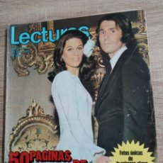 Coleccionismo de Revistas: LECTURAS 1.058 ESPECIAL BODA DE RAPHAEL Y NATALIA.CON FOTOS Y POSTER CENTRAL. ETC... Lote 245088535