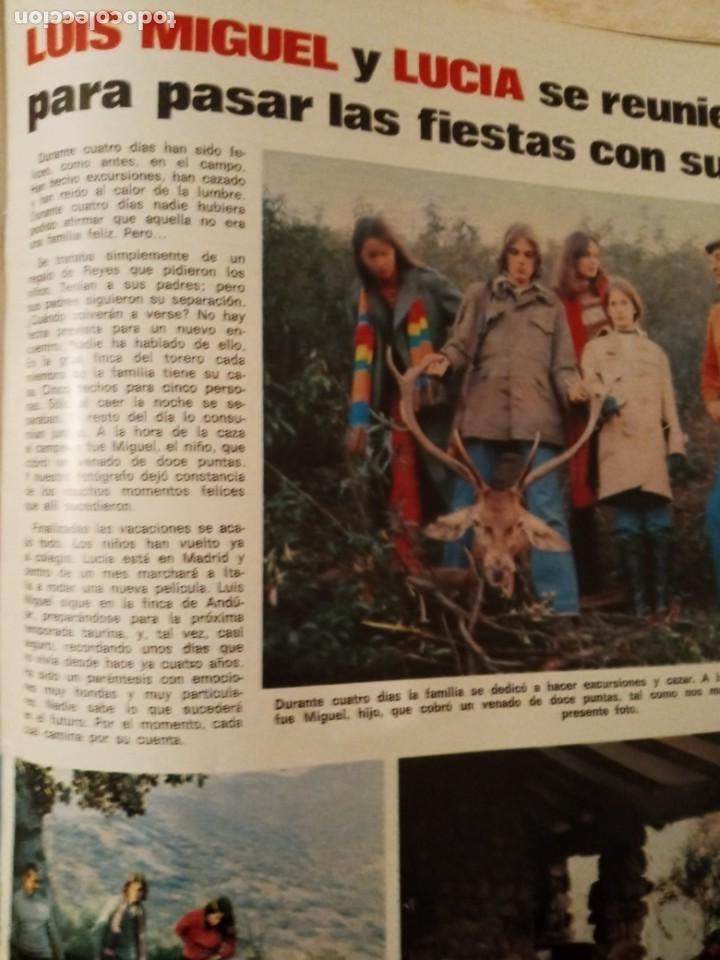 Coleccionismo de Revistas: LECTURAS 1031 BODA NOELIA ALONSO MISS EUROPA .DUO DINAMICO.LUCIA BOSE Y DOMINGUIN.POSTERETC - Foto 4 - 245154650