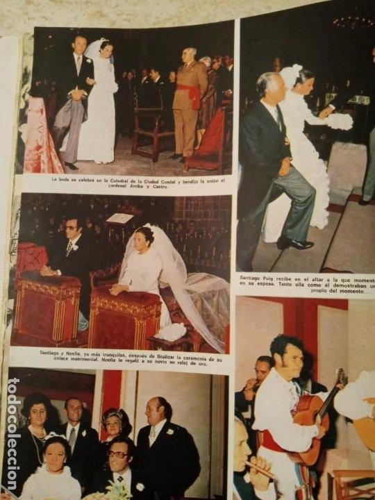 Coleccionismo de Revistas: LECTURAS 1031 BODA NOELIA ALONSO MISS EUROPA .DUO DINAMICO.LUCIA BOSE Y DOMINGUIN.POSTERETC - Foto 5 - 245154650