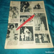 Colecionismo de Revistas: RECORTE : SARA MONTIEL Y VICENTE PARRA. ROCIO JURADO, LADY ESPAÑA. LECTURAS, SPTMBRE 1967(#). Lote 245356640