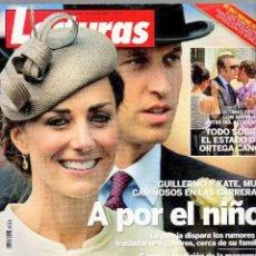 Coleccionismo de Revistas: REVISTA LECTURAS NUM. 3090 - 15 DE JUNIO DE 2011 - GUILLERMO Y KATE A POR EL NIÑO. Lote 245466295