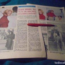 Coleccionismo de Revistas: RECORTE : SOLEDAD MIRANDA, HABLA DE EL CORDOBES. LECTURAS, ENERO 1965(#). Lote 246135990