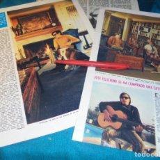 Coleccionismo de Revistas: RECORTE : JOSE FELICIANO EN SU CASA. LECTURAS, SPTMBRE 1971(#). Lote 246294030