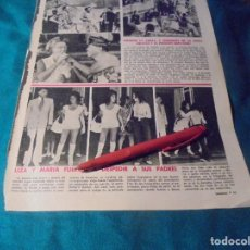 Coleccionismo de Revistas: RECORTE : LIZ TAYLOR. LECTURAS, SPTMBRE 1971(#). Lote 246294265