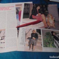 Coleccionismo de Revistas: RECORTE : DESAPARICION DE TINA, DE LAS GRECAS. LECTURAS, DCMBRE 1989(#). Lote 246295075