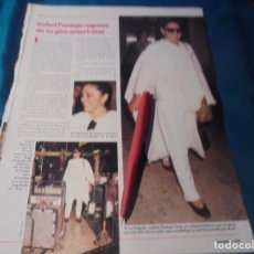Coleccionismo de Revistas: RECORTE : ISABEL PANTOJA, REGRESA DE SU GIRA AMERICANA. LECTURAS, DCMBRE 1989(#). Lote 246295285