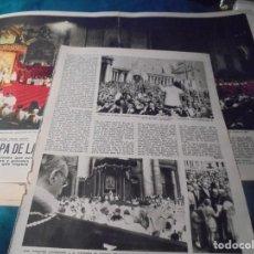 Coleccionismo de Revistas: RECORTE : PABLO VI, EL PAPA DE LA SENCILLEZ. LECTURAS, DCMBRE 1965(#). Lote 246320135