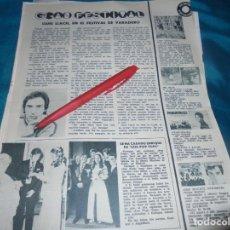 Coleccionismo de Revistas: RECORTE : LLUIS LLACH, EN EL FESTIVAL DE VARADERO. LOS POP TOPS. LECTURAS, NVMBRE 1970(#). Lote 246463555