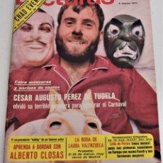 Coleccionismo de Revistas: LECTURAS Nº 985 5 MARZO 1971 - PÉREZ DE TUDELA - ROCÍO DURCAL - RODRIGO HIJO SANCHO GRACIA. Lote 248734760