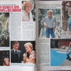 Collectionnisme de Magazines: RECORTE REVISTA LECTURAS N.º 1449 1980 GREGG HENRY. MELISSA GILBERT. LOS PECOS. Lote 251521615