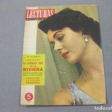 Coleccionismo de Revistas: REVISTA LECTURAS DE AGOSTO DE 1956 Nº 385. Lote 252224930