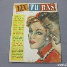 Coleccionismo de Revistas: REVISTA LECTURAS DE ENERO DE 1952 Nº 327. Lote 252225175