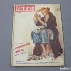 Coleccionismo de Revistas: REVISTA LECTURAS DE ENERO DE 1948 Nº 279. Lote 252225400