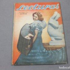 Coleccionismo de Revistas: REVISTA LECTURAS DE OCTUBRE DE 1943 Nº 228. Lote 252226065