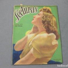 Coleccionismo de Revistas: REVISTA LECTURAS DE JUNIO DE 1943 Nº 224. Lote 252226110