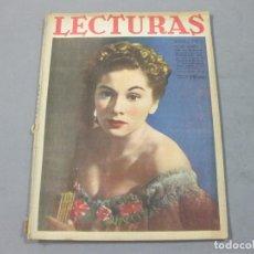Coleccionismo de Revistas: REVISTA LECTURAS DE MARZO DE 1943 Nº 221. Lote 252226175