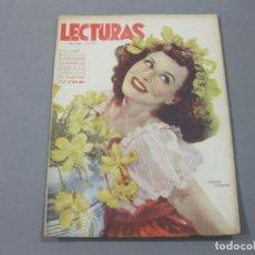 Coleccionismo de Revistas: REVISTA LECTURAS DE JULIO DE 1942 Nº 213. Lote 252226735